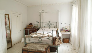 light location dormitorio vintage