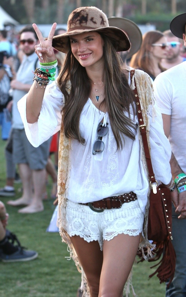 Celebrities at Coachella Festival