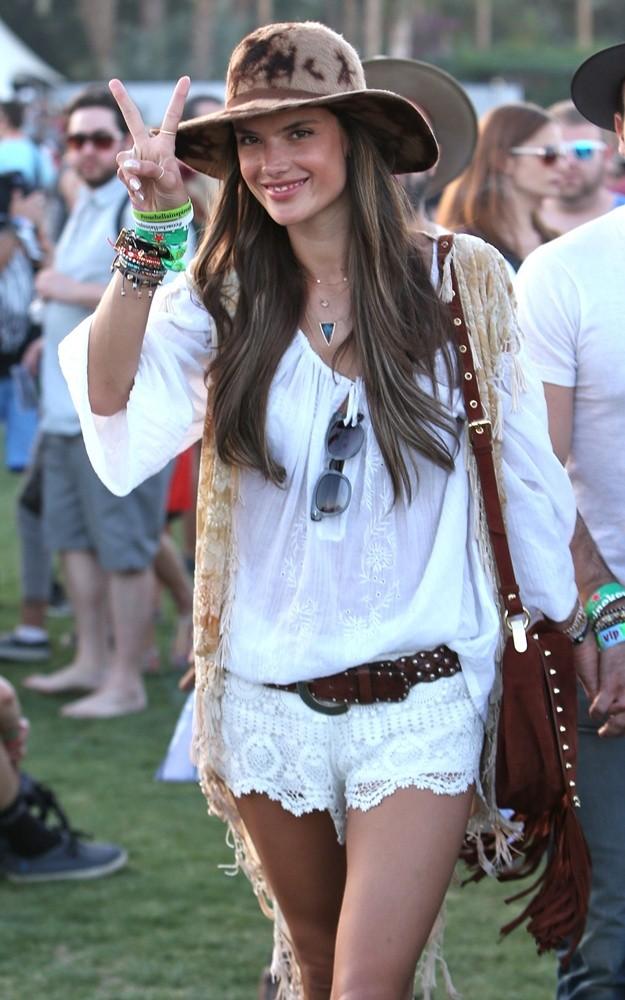 Celebrities at Coachella Festival