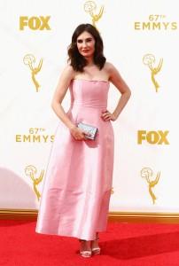 """Carice Van Houten de """"Game Of Thrones"""" con un vestido rosa de la firma Dior."""